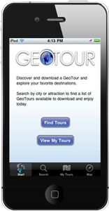 GeoTour iPhone